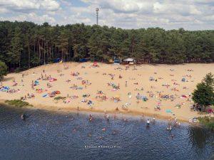 Kobyla Góra - plaża