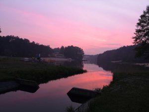 Zachód słońca - Kobyla Góra
